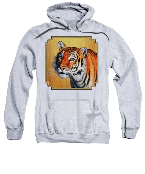 Tiger Portrait Sweatshirt