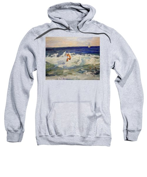 Tightrope Walking The Waves Sweatshirt