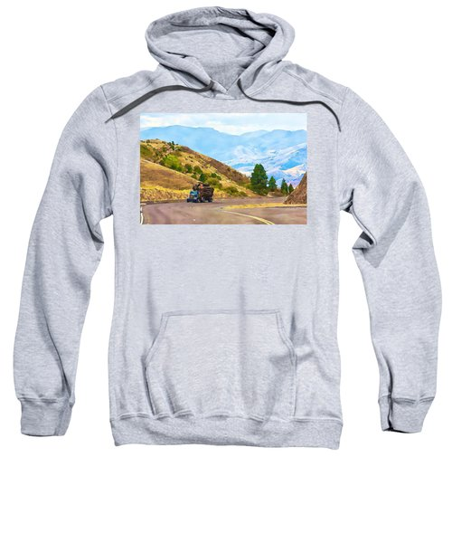 Timbers Truck In Idaho Sweatshirt
