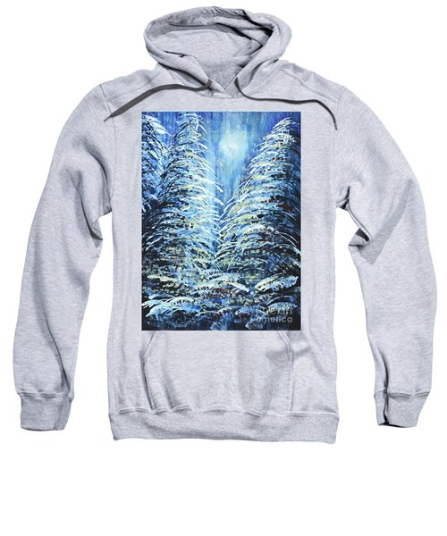 Tim's Winter Forest Sweatshirt