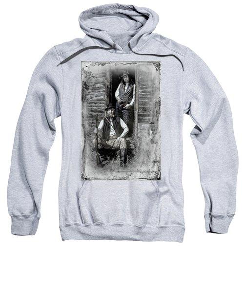 Tintype Portrait Reproduction Sweatshirt
