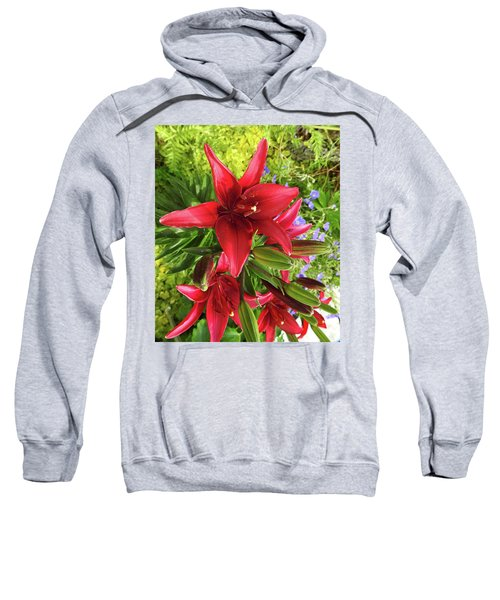 Tiny Ghost Asiatic Lilly Sweatshirt
