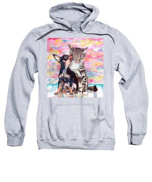 Tito And The Fonz Sweatshirt