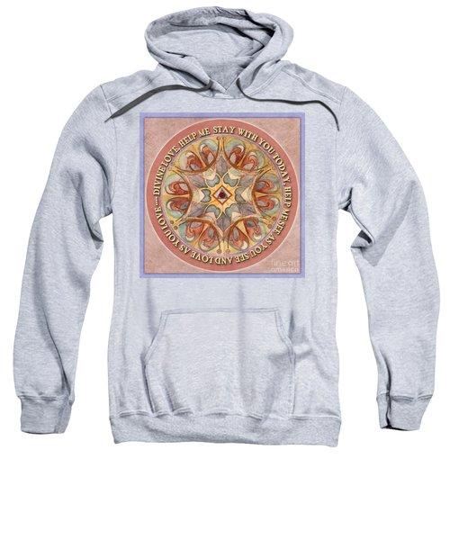 To See As Love Sees Mandala Prayer Sweatshirt