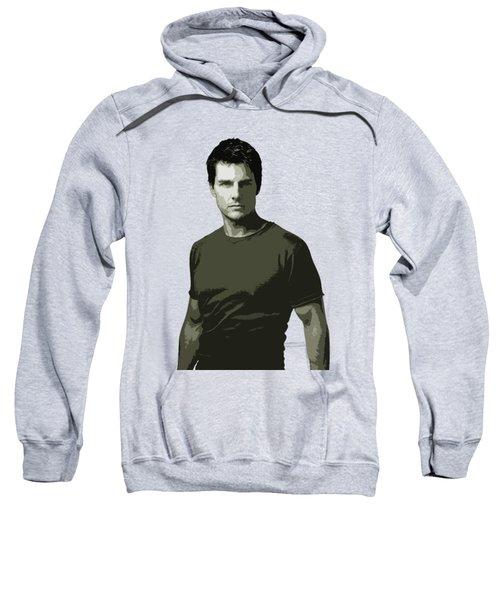 Tom Cruise Cutout Art Sweatshirt