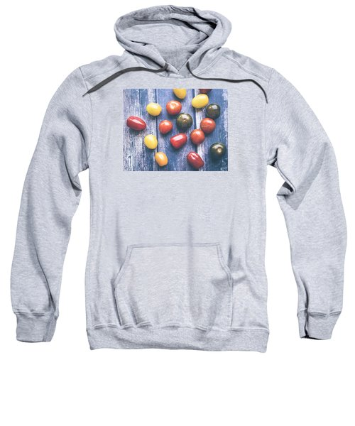 Tomato Medley  Sweatshirt by Nicole English