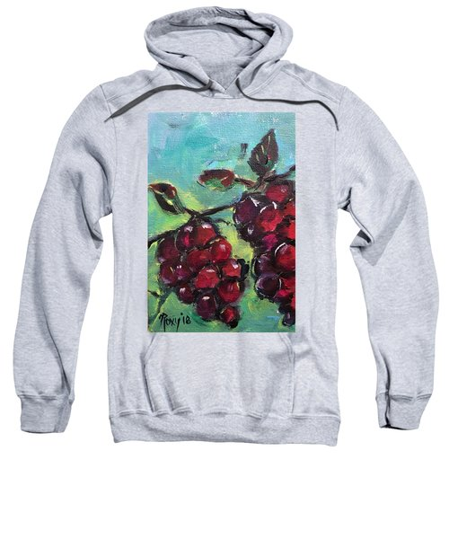 Tomorrows Pinot Noir Sweatshirt