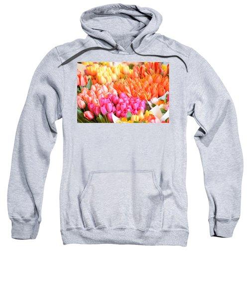 Tons Of Tulips Sweatshirt