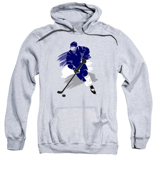 Toronto Maple Leafs Player Shirt Sweatshirt by Joe Hamilton