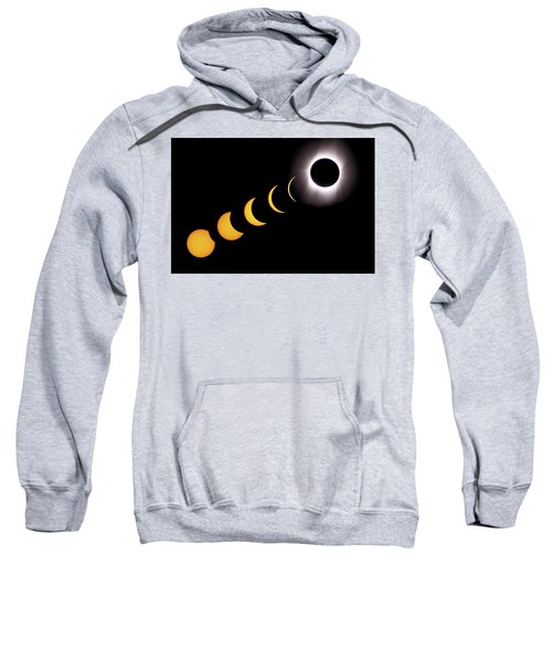 Total Eclipse Sequence, Aruba, 2/28/1998 Sweatshirt