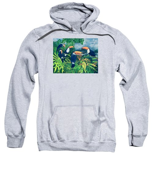Toucan Talk Sweatshirt by Lisa Graa Jensen