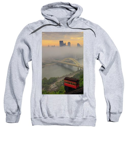Touch Of Fog  Sweatshirt