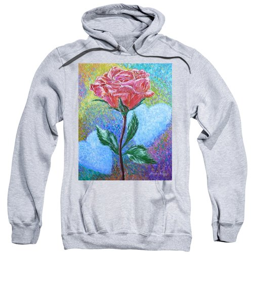 Touched By A Rose Sweatshirt