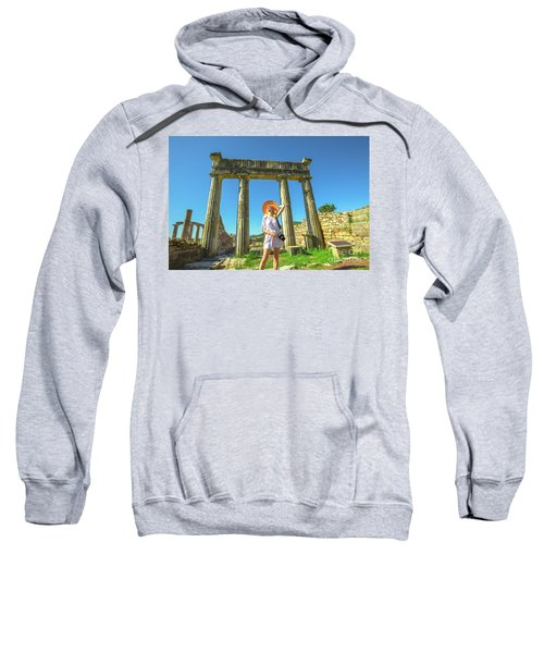 Tourist Traveler Photographer Sweatshirt