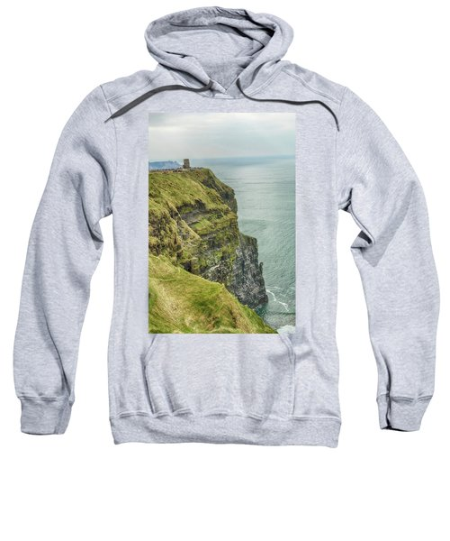 Tower At The Cliffs Of Moher Sweatshirt