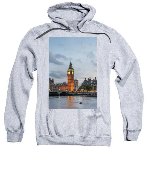 Tower Of London In The Moonlight Sweatshirt