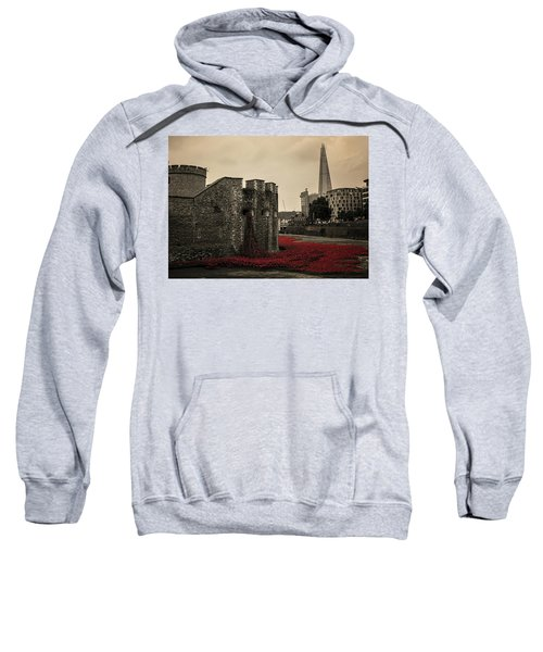 Tower Of London Sweatshirt by Martin Newman