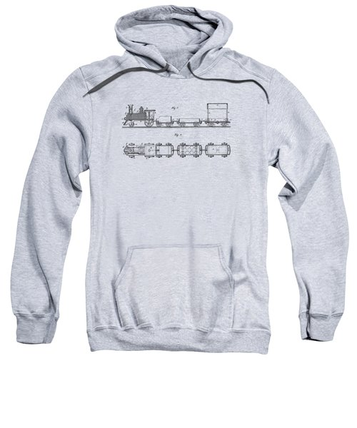 Toy Train Tee Sweatshirt by Edward Fielding