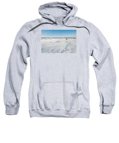 Tracks In The Snow Sweatshirt