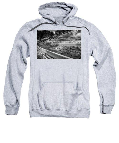 Tracks Through Historic Buford Sweatshirt