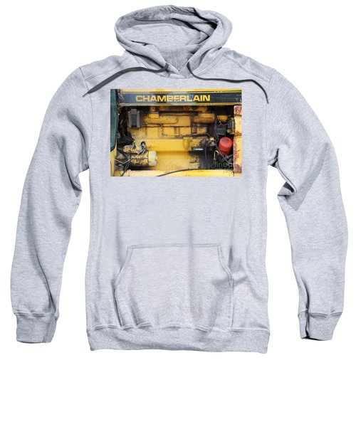 Sweatshirt featuring the photograph Tractor Engine Iv by Stephen Mitchell