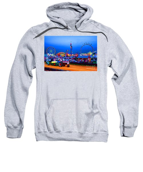 Tractor Pull At The County Fair Sweatshirt