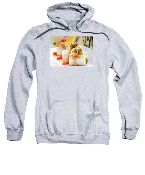 Traditional Chinese Hakka Rice Noodle Roll Sweatshirt