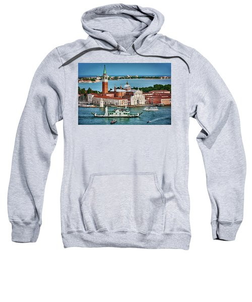 Traffic Around The Venetian Church Sweatshirt