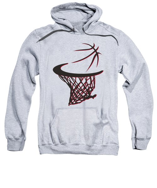 Trail Blazers Basketball Hoop Sweatshirt
