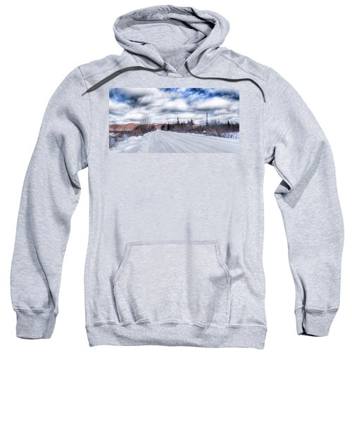 Trail One In Old Forge 2 Sweatshirt