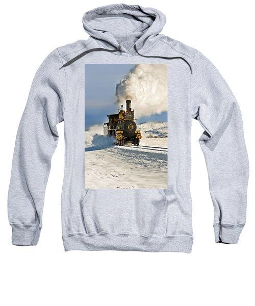Train In Winter Sweatshirt
