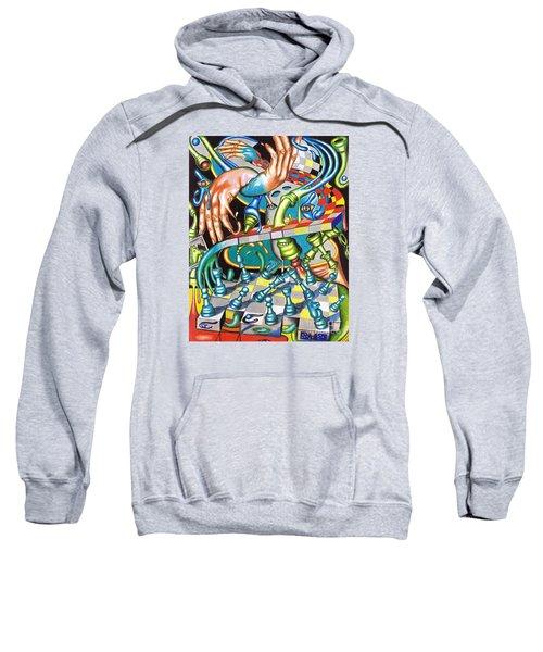 Transmutation Of Time, Reflex, And Observation Sweatshirt