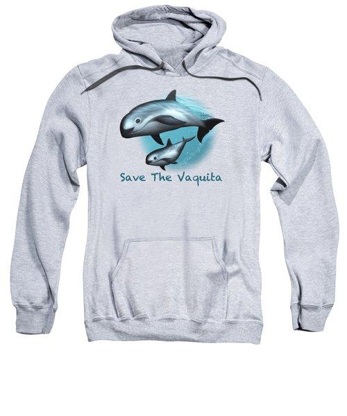 Treacherous Waters Vaquita Porpoise Sweatshirt