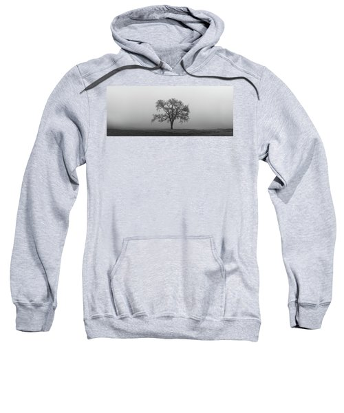 Tree Alone In The Fog Sweatshirt
