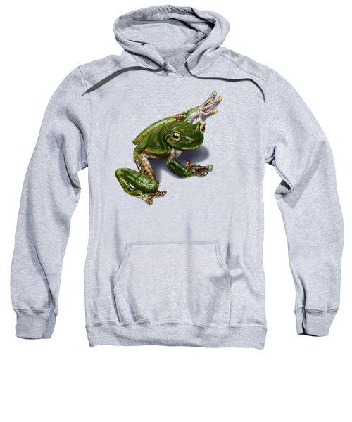 Tree Frog  Sweatshirt by Owen Bell