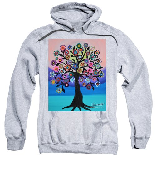 Blooming Tree Of Life Sweatshirt