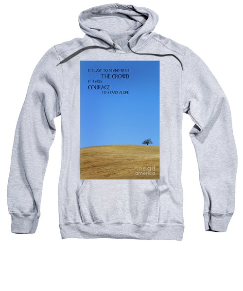 Tree Of Courage Sweatshirt
