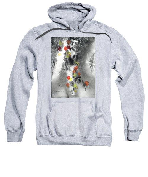 Tree Shadows And Fall Leaves Sweatshirt