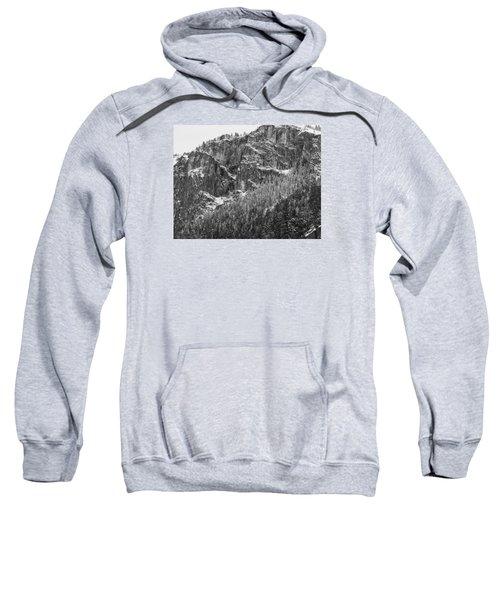 Sweatshirt featuring the photograph Treefall by Lora Lee Chapman