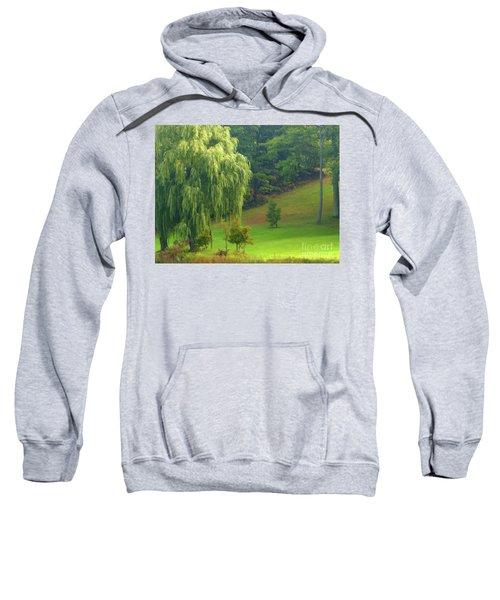 Trees Along Hill Sweatshirt