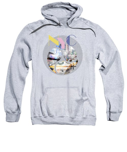 Trendy Design New York City Geometric Mix No 1 Sweatshirt by Melanie Viola