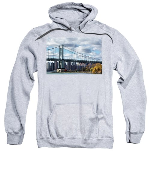 Triboro Bridge In Autumn Sweatshirt