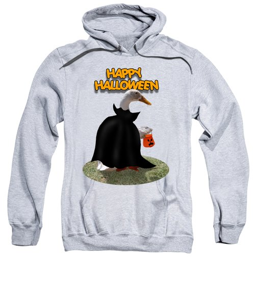 Trick Or Treat For Count Duckula Sweatshirt