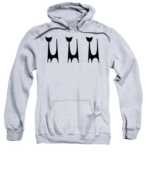 Trio Of Cat 1  Sweatshirt