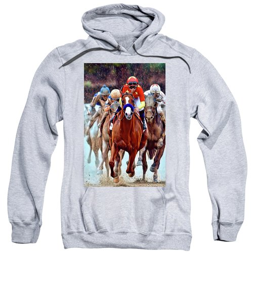 Triple Crown Winner Justify Sweatshirt