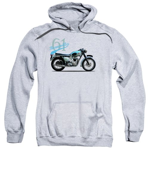 Triumph Bonneville 1961 Sweatshirt by Mark Rogan