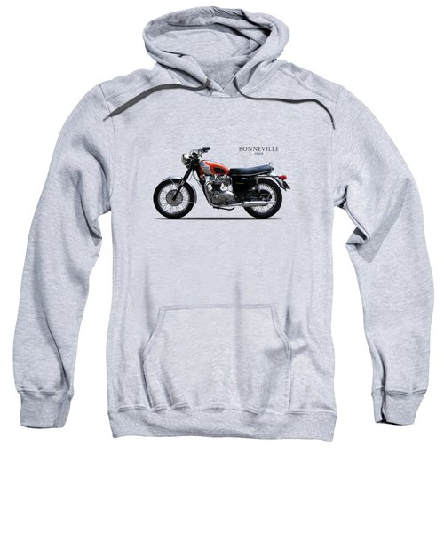 Triumph Bonneville 1969 Sweatshirt by Mark Rogan