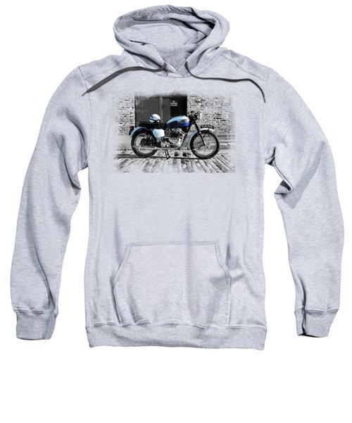 Triumph Bonneville T120 Sweatshirt by Mark Rogan