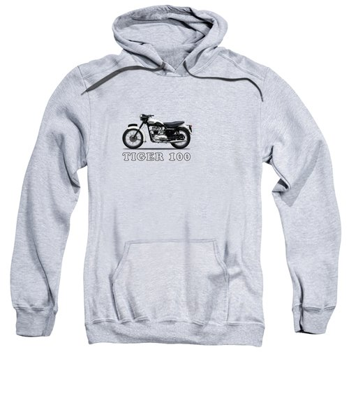 Triumph Tiger 110 1959 Sweatshirt by Mark Rogan