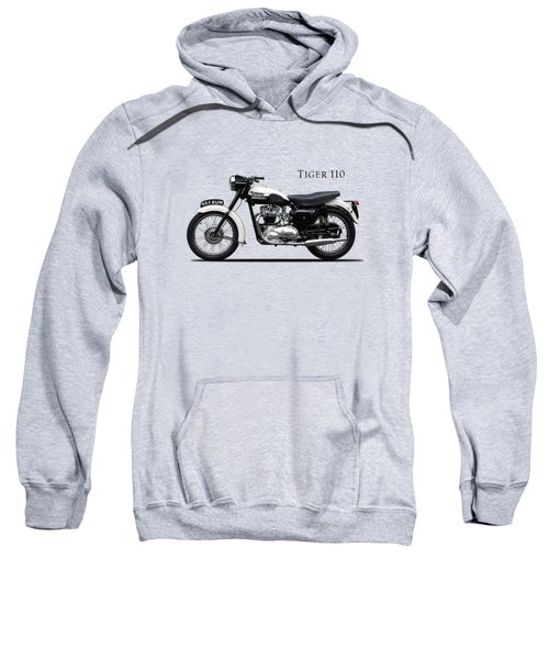 Triumph Tiger 1959 Sweatshirt by Mark Rogan